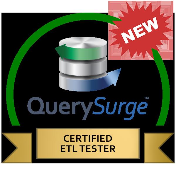 New ETL Tester Certification