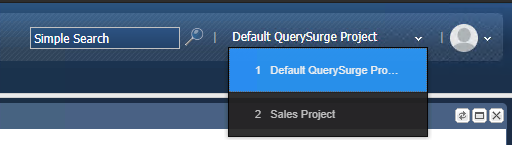 Default QuerySurge Project
