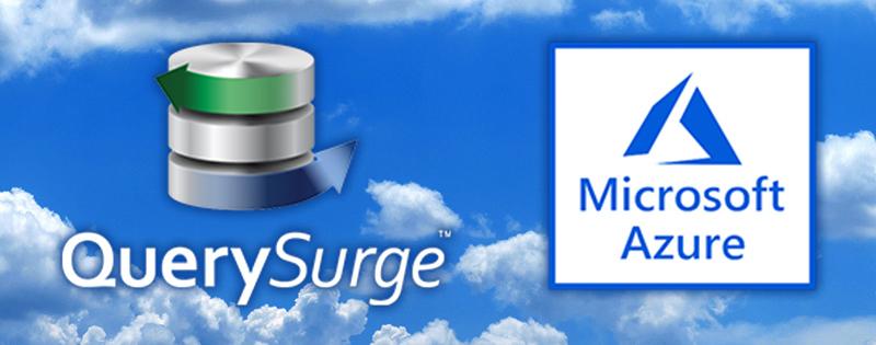 QuerySurge in the Azure Marketplace & Azure DevOps