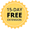 Trial 15day extension badge